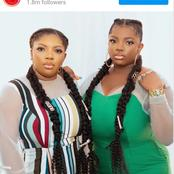 2020 BBNaija star shows off lookalike sister in celebration of Int'l Women's Day