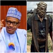 Buhari Reveals Main Reason Why The Government Haven't Deployed Force To Fight Bandits.