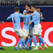CHAMPIONS LEAGUE: See The Team Man City Will Face in the Semi-finals