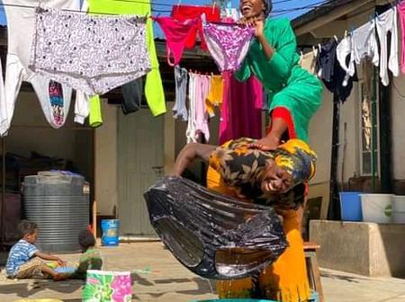 Awinja And Wilbroda's Photo Cracking Kenyans' Ribs