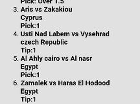 Top Ten (10) Well Analysed Matches To Bank On Tonight And Earn Big