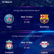 Check out top UEFA Champions League predictions for Wednesday Matches