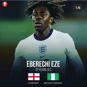 Eberechi Eze, Karim And Other Players Of Nigerian Origin Who Needs To Play For The National Team.