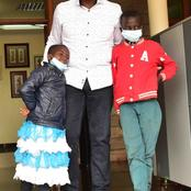 Blessings! DP Ruto Meets 'Mukamo' Siblings Gifts Them a Fortune (PHOTOS)