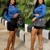 Popular Blogger Linda Ikeji Stuns In New Pictures, Checkout The Price Of The Bag She Posed With