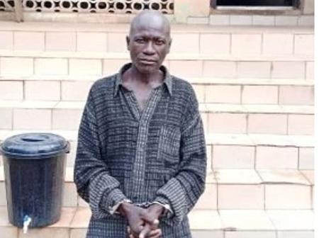 59-Years-Old Pastor Arrested For Raping  A 10-Years-Old Girl In Ogun (Photo)