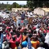 Dp Ruto Forced To Intervene After Kitale Residents Humiliate These Leaders In His Presence