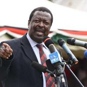Blow To Raila And Ruto After Mudavadi's Latest Strong Statements