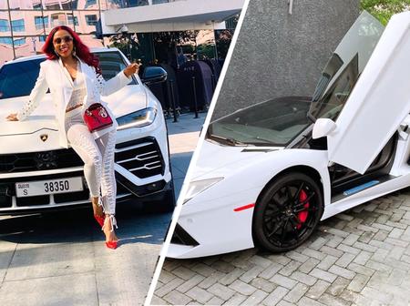 7 Nigerian Celebrities Show Off Expensive Lamborghini Cars (Photos)