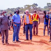 High Expectations as Clem Agba Inspects Ongoing Dualisation Of Benin Ehor Road Project(PHOTOS)