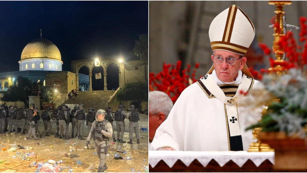 Head of Catholic Church Calls For End To Violence In Annexed Jerusalem