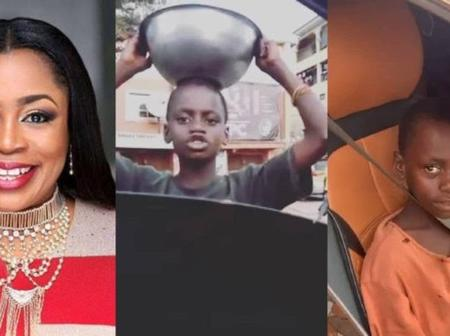 Gospel Singer Sinach Offers Scholarship To An Intelligent Pure Water Seller