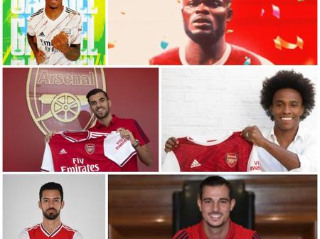 See All Arsenal Completed Signings