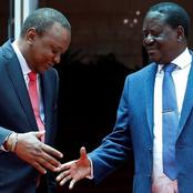 Uhuru To Meet Raila In Statehouse For a Crisis Meeting Today