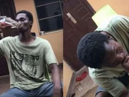 See What Happened to a FUNAAB Student After Risking His Life for a #5000 Bet