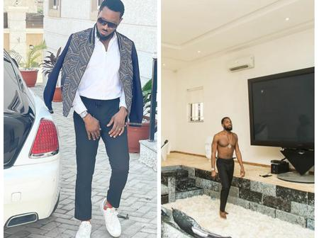 Check out photos of Dbanj's Rolls Royce which is Customised, and a photo of his parlour
