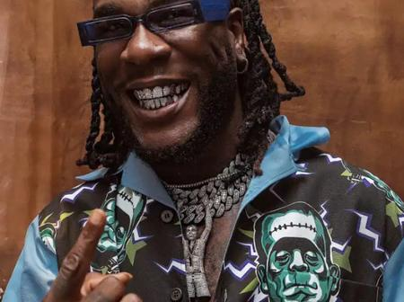 Burna Boy Bags Another Winning As He Gets Nominated as 'Best International Act' at 2021 BRIT Awards.