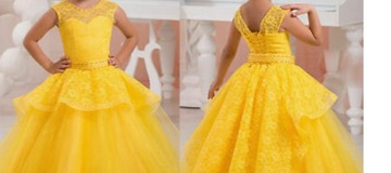 Adorable Ball Gown Dress for Your Girls