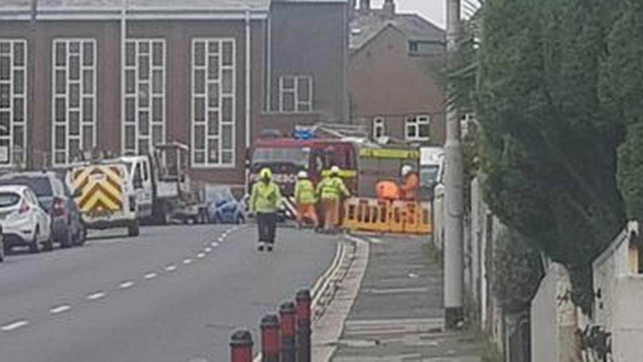 Electrical explosion closes road in St Budeaux - updates