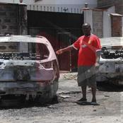 Nairobi Man Whose Expensive Cars Were Burnt Down Finally Breaks Silence, Denys Suicide Claims