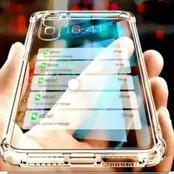 The era of transparent phones has come. See photos of transparent phones that will change the world