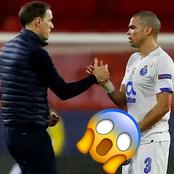 After Tuchel 'Reportedly' Insulted Porto Manager, See What Pepe Did To Him After The Game