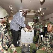 What The Military Said After It was Allegedly Told To Force Ruto to Resign