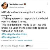 Here are some tips which this lady says had worked wonders for her marriage in that past 13-years