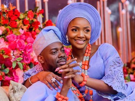 See Adekunle Gold's Message To Simi On Their Second Wedding Anniversary