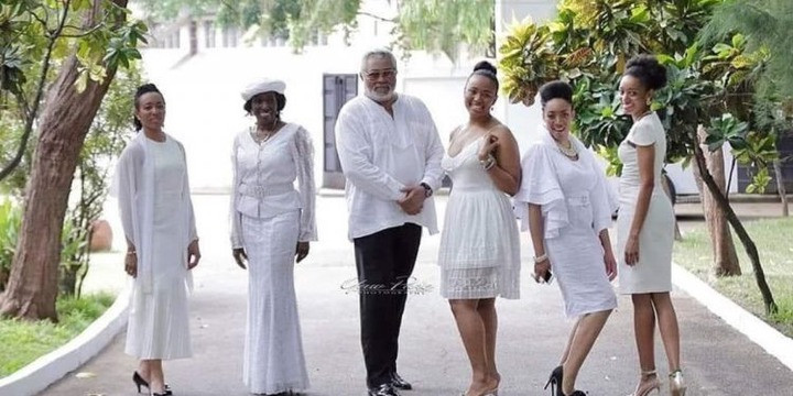 Photo:Hot Shot of J.J Rawlings With His Family Causes Stir As He ...