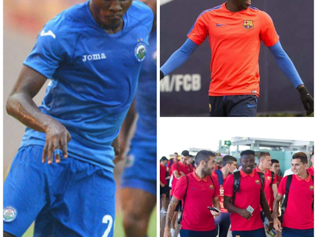 From Enyimba FC to FC Barcelona of Spain, where is Ezekiel Bassey the golden boy of NPFL?
