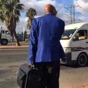 Jacob Zuma spotted taking a taxi to unknown location by twitter