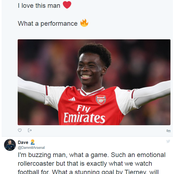 Arsenal Fans Loved Odegaards Celebration As They Go Crazy Over what Bukayo Saka did vs Benfica