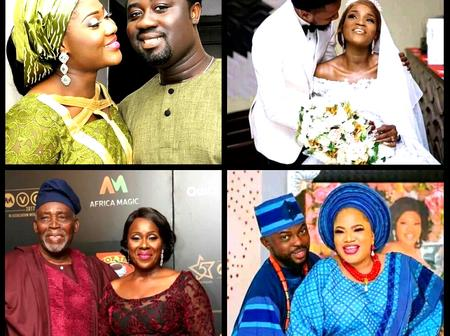 See 35 Pictures That Will Prove To You That Nollywood Stars Also Get Married Despite Their Careers.