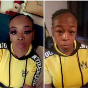 """Make-Ups Should Be Banned, Kenyans React After This Viral Photos Of a Lady's """"Transformation"""""""