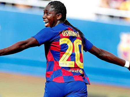 Nigeria's Oshoala Becomes The First African To Be Nominated For UEFA Fans Women's Team Of The Year