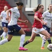 After Man United Women Hit Aston Villa, See Their Positions On The FA Women's Super League Table
