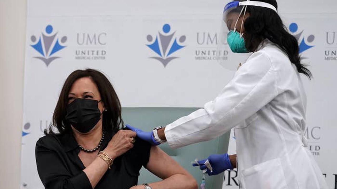 Kamala Harris And Doug Emhoff Have Received The Moderna COVID-19 Vaccine
