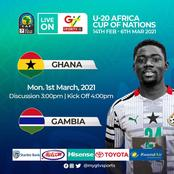Percious Boah's Sumptuous Free Kick Sends Ghana To CAF U-20 Afcon Finals