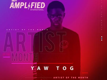 Young Musician Yaw Tog wins his first BET Award