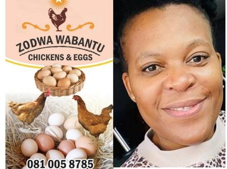 Zodwa Wabantu is now selling chickens & eggs. The business empire she always wanted