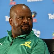Sundowns coach said that they don't want Favourites