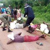 Côte d'Ivoire : Grave Accident à l'instant à Daoukro, voici les images