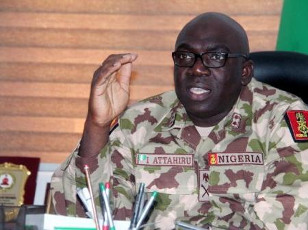 'We're Coming For You'- Army Boss Tells Igboho, Dokubo and Others.