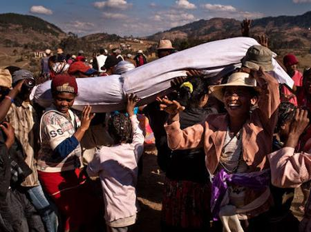Meet This Africa Country That Dances With Corpses Wrapped In A Silk In Other To Give Them Respect