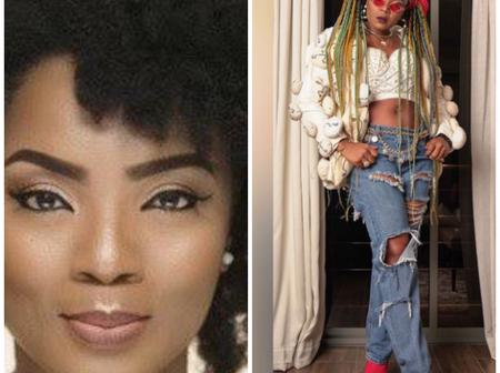 Chioma Chukwuka Dresses Like A Ghetto Girl With Different Colours Of Hairstyle (Photos)