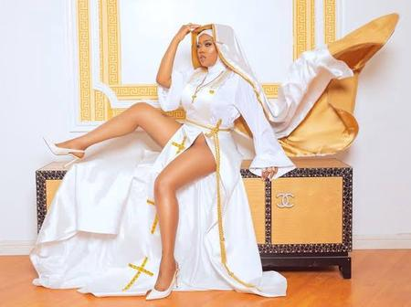 Here Is Where Toyin Lawani Got It Wrong In Her Nun Outfit