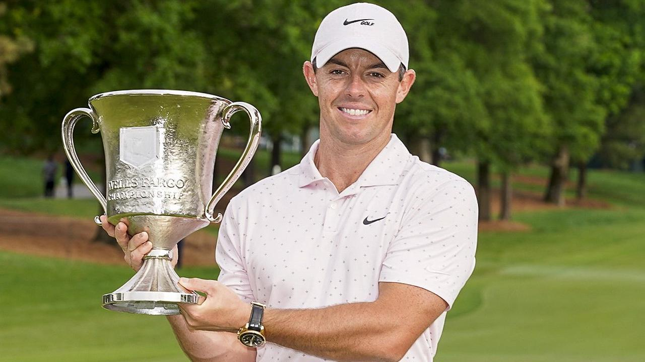 McIlroy wins at Wells Fargo to end 18-month drought