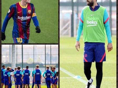 OFFICIAL : Barca Youngster signs New 2 years deal, Injured Barca Star returns to training.