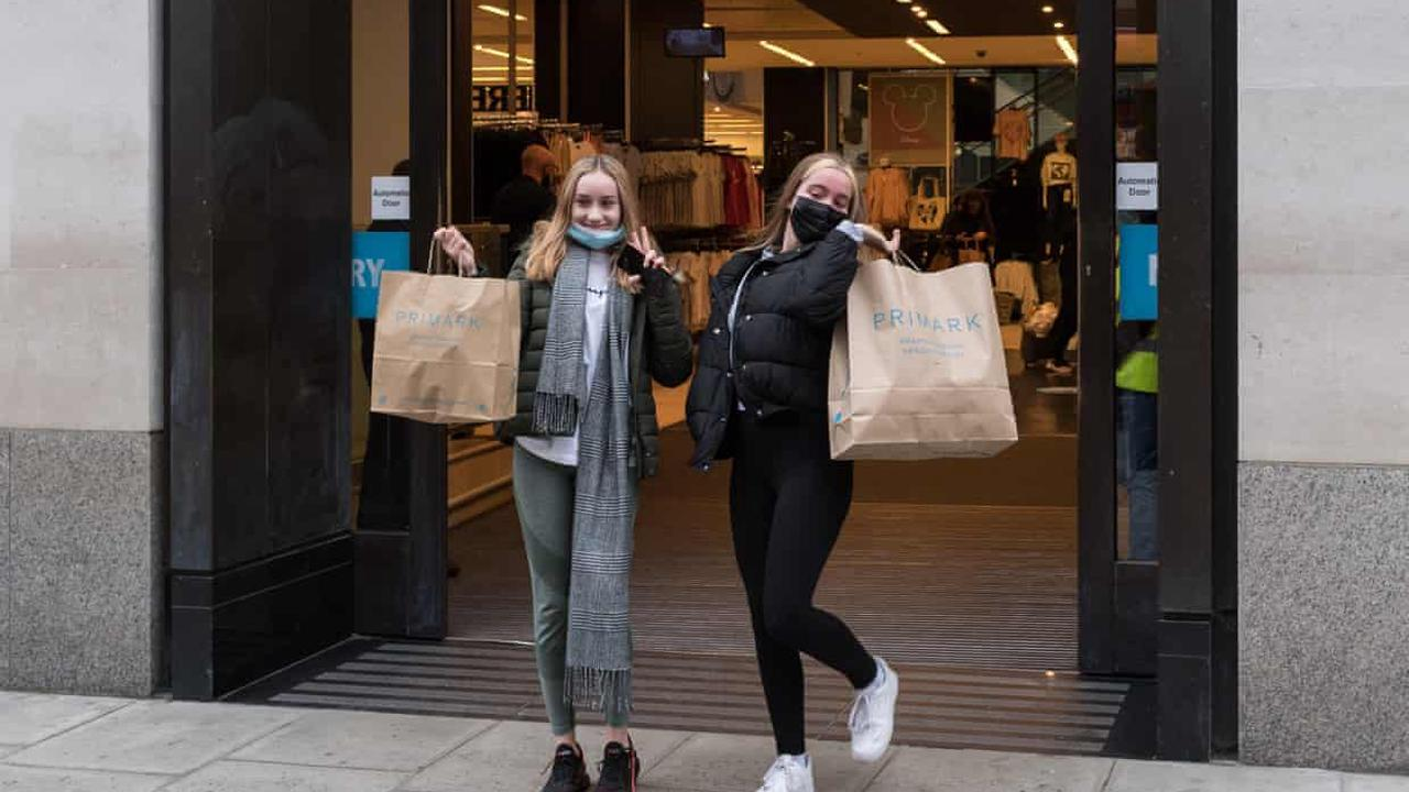 Shoppers rush out for their retail fix, but will they keep spending?